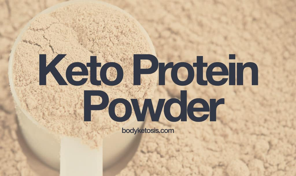 can i have protein powder on keto diet