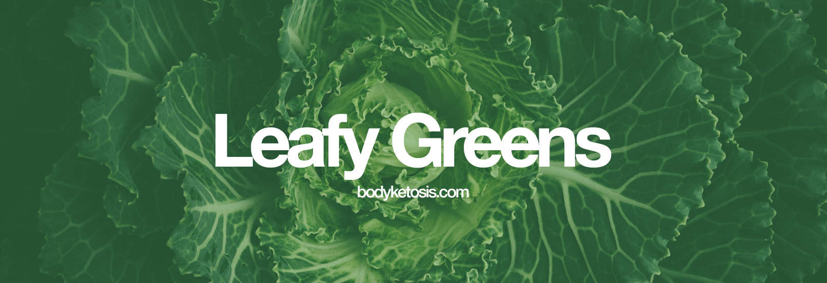 leafy greens keto food list