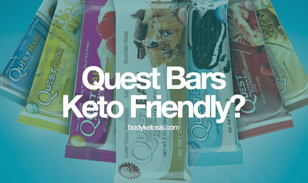 quest bar keto diet