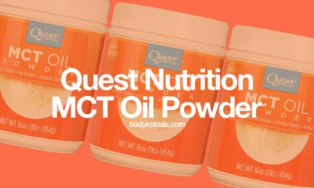 Quest MCT Oil Powder Review 2018 (Best Way To Absorb MCTs?)