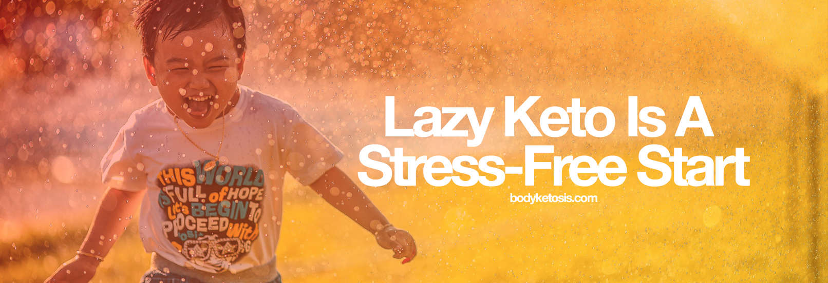 lazy is stress free