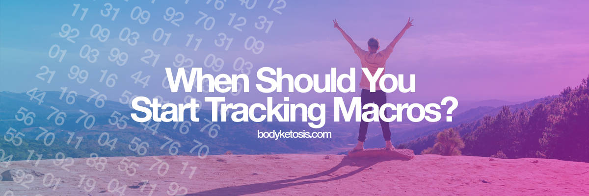 when to track macros