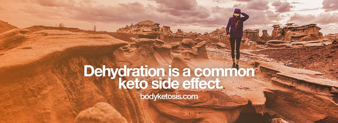 dehydration keto hunger