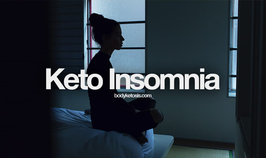 how to cure keto insomnia
