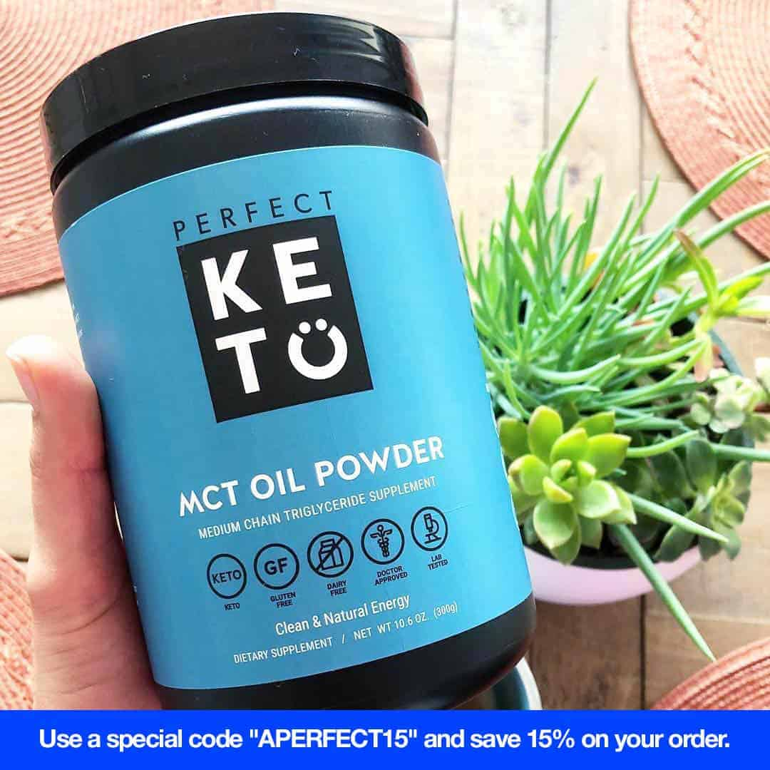 keto snack perfect keto mct powder