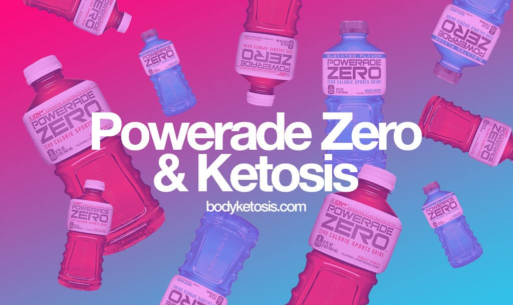 powerade zero keto