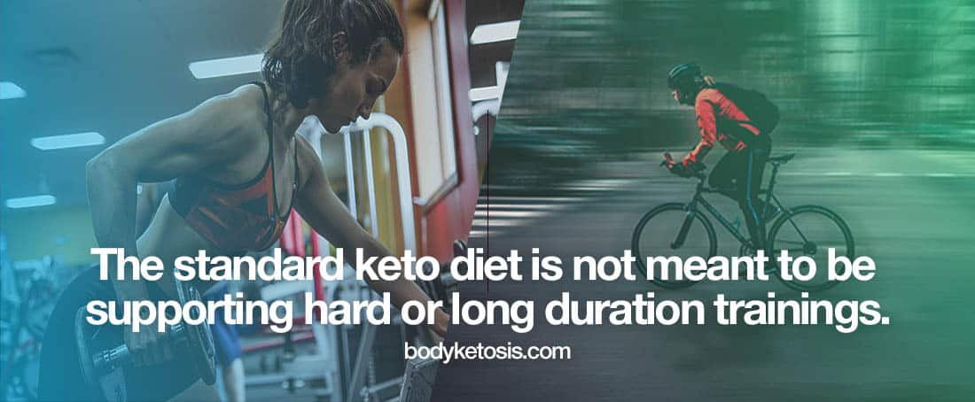 hard training keto hunger