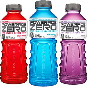 keto snacks powerade zero