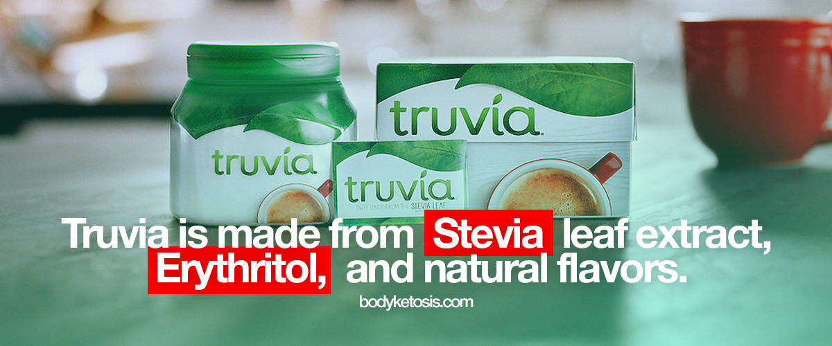 truvia is keto friendly sweetener