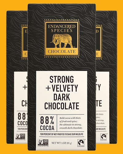 endangered species keto chocolate dark