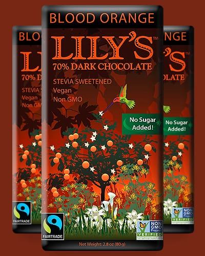 lilys dark chocolate keto