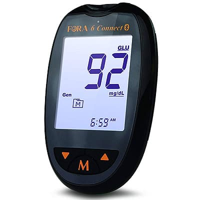 fora 6 connect blood ketone monitor