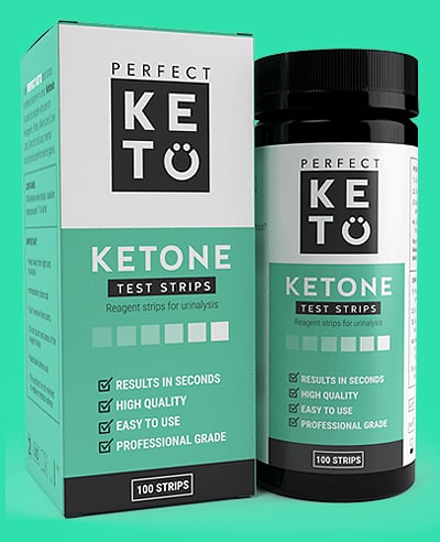 perfect keto urine test strips