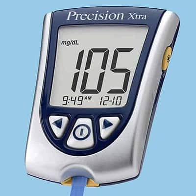 precision xtra blood ketone meter