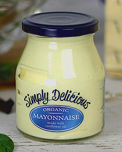 simply delicious organic mayonnaise low carb