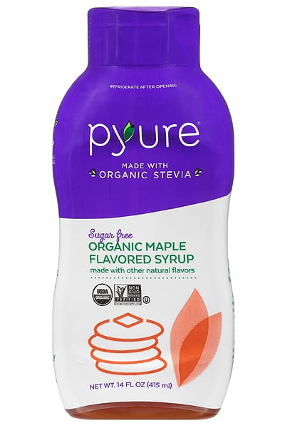 Pyure Organic low carb sugar free maple Flavored Syrup