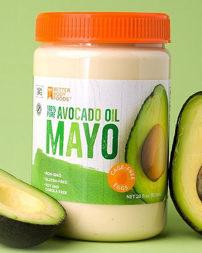 betterbody foods avocado oil mayonnaise keto friendly