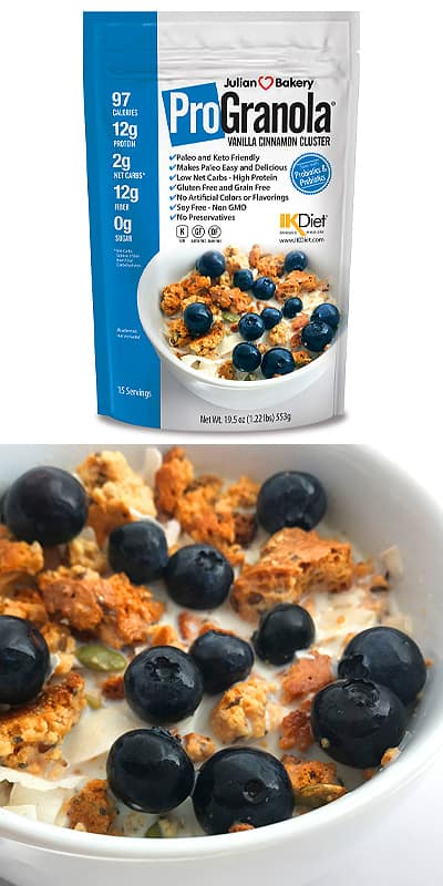 keto cereal Julian Bakery ProGranola Cereal