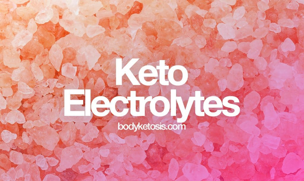 best keto electrolyte supplements