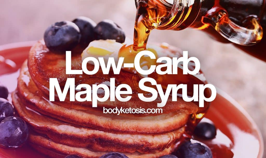 best sugar free syrup brands for keto