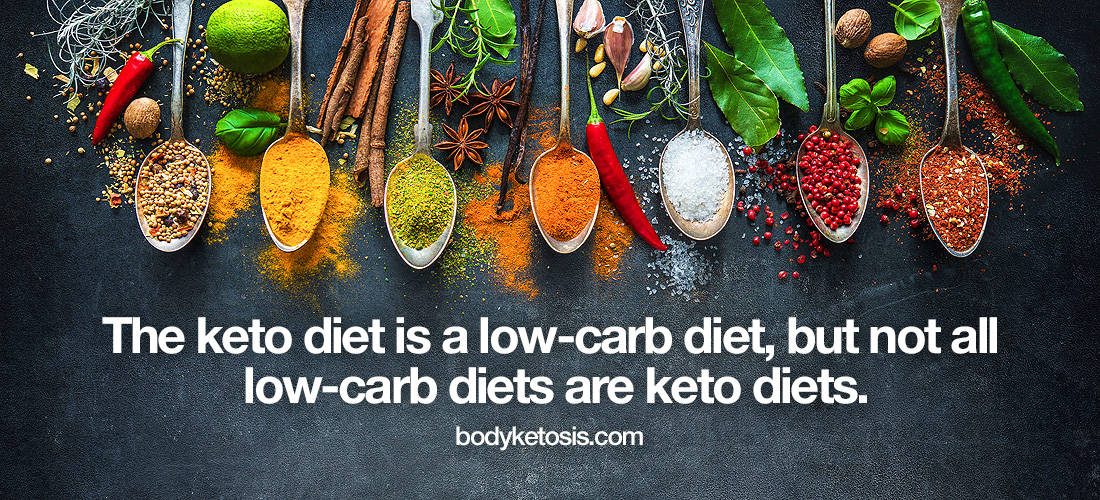 keto diet is a low carb diet