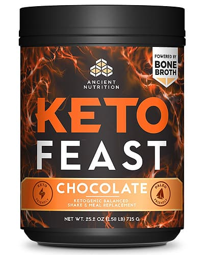 ancient nutrition keto feast meal shake