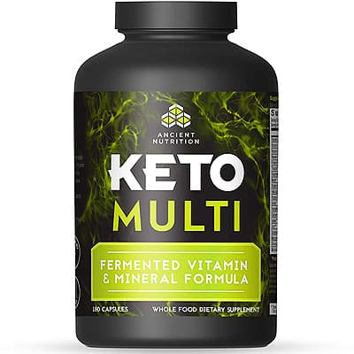 ancient nutriton keto multivitamin