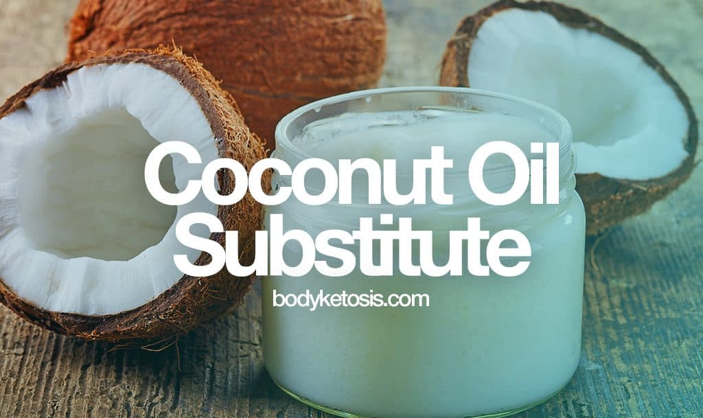 best coconut oil substitute