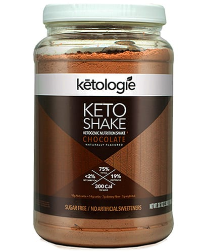 ketologie meal replacement keto shake