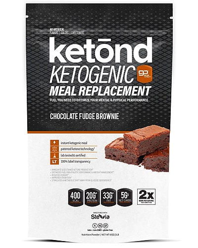 ketond meal replacement shake for keto diet