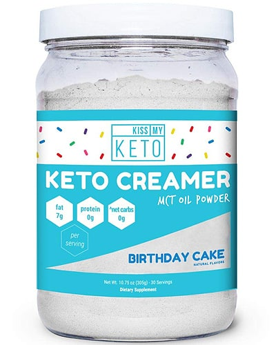 kissmyketo mct powder creamer