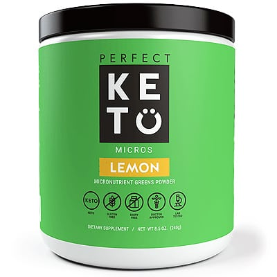 perfect keto greens powder a multivitamin alternative