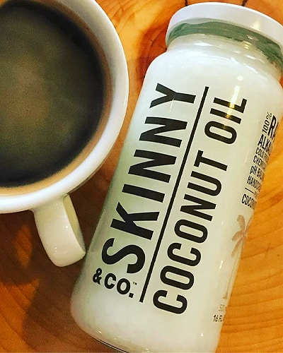 skinny and co coconut oil