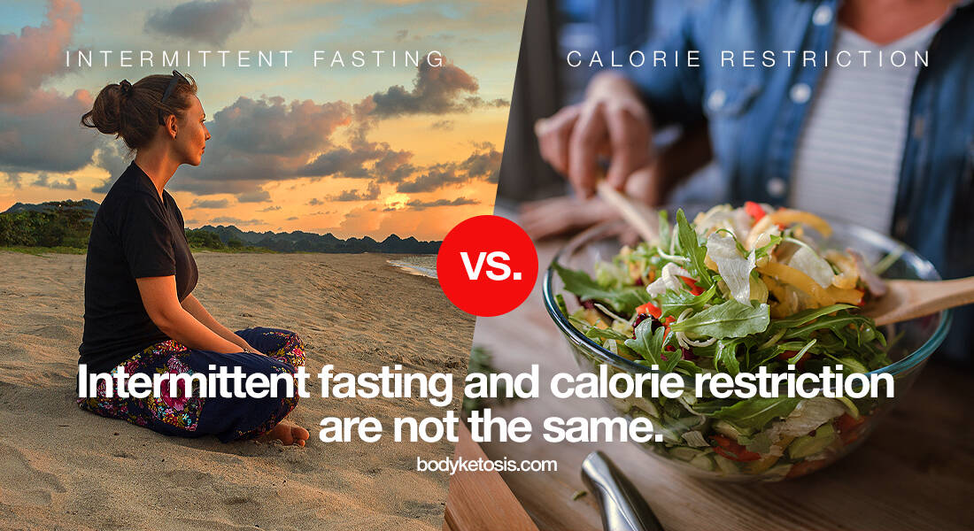 fasting vs calorie restriction