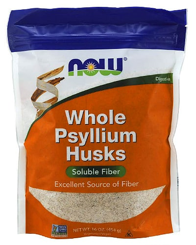 now psyllium husks
