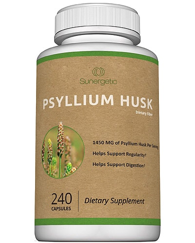 sunergetic psyllium husk fiber for keto
