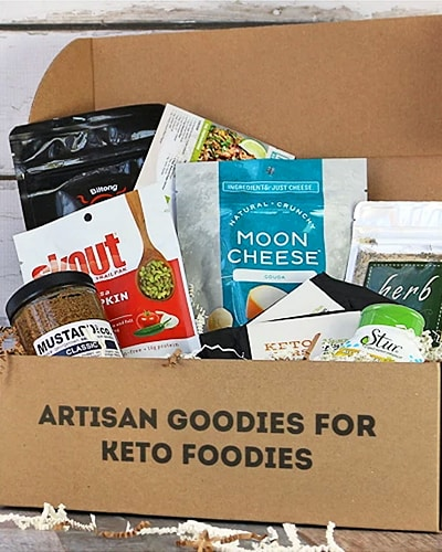 keto delivered subscription box