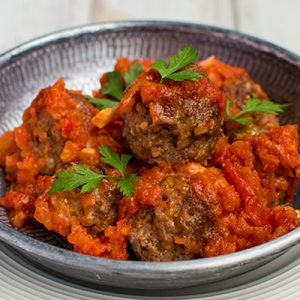 picture of keto sutffed meatballs