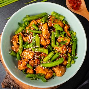 keto sesame chicken