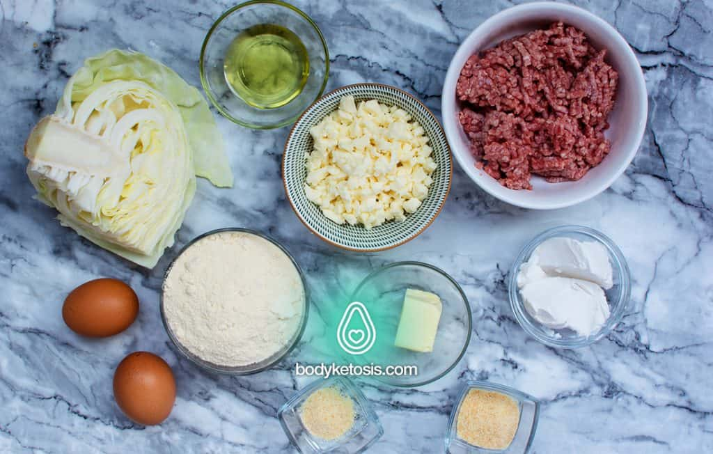 keto runza ingredients