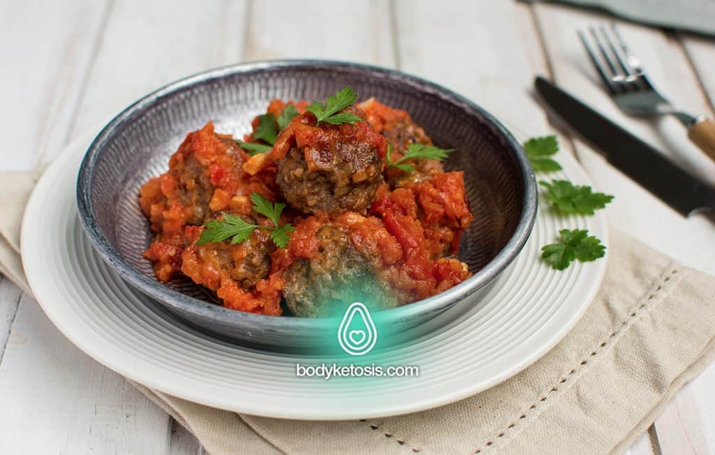keto stuffed meatballs
